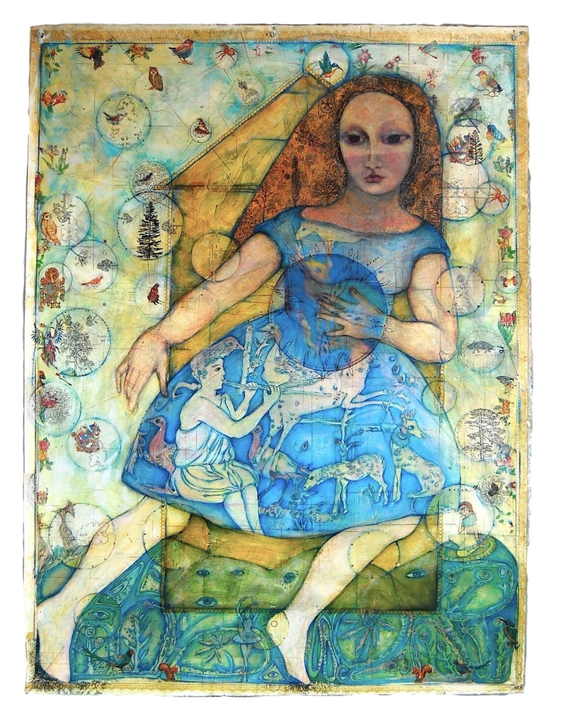 MARYJEAN  VIANO  CROWE MIXED MEDIA: The Feminine Divine