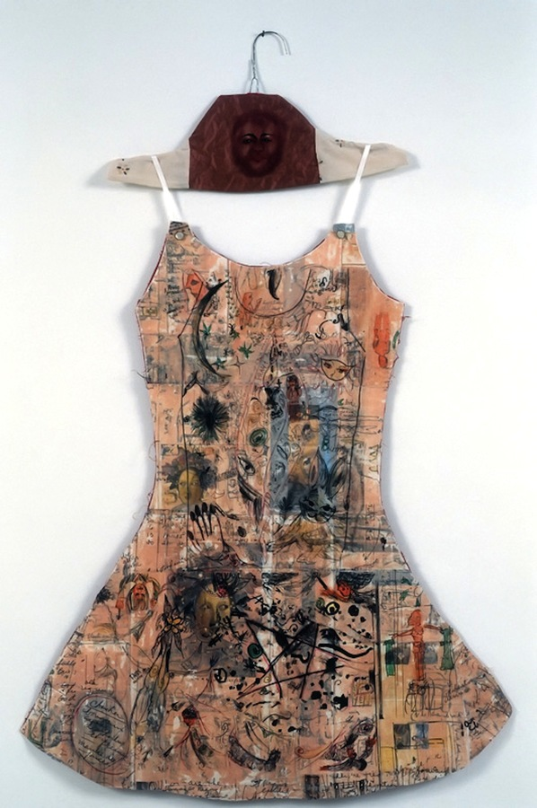 PAPER DRESSES: Women's Narratives Women's Life: Collaboration with Annie