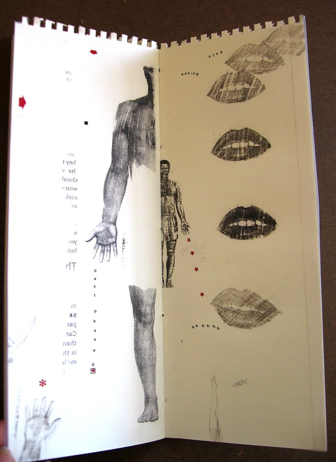 "ARTIST BOOKS ""HEART LOSS""     2005"