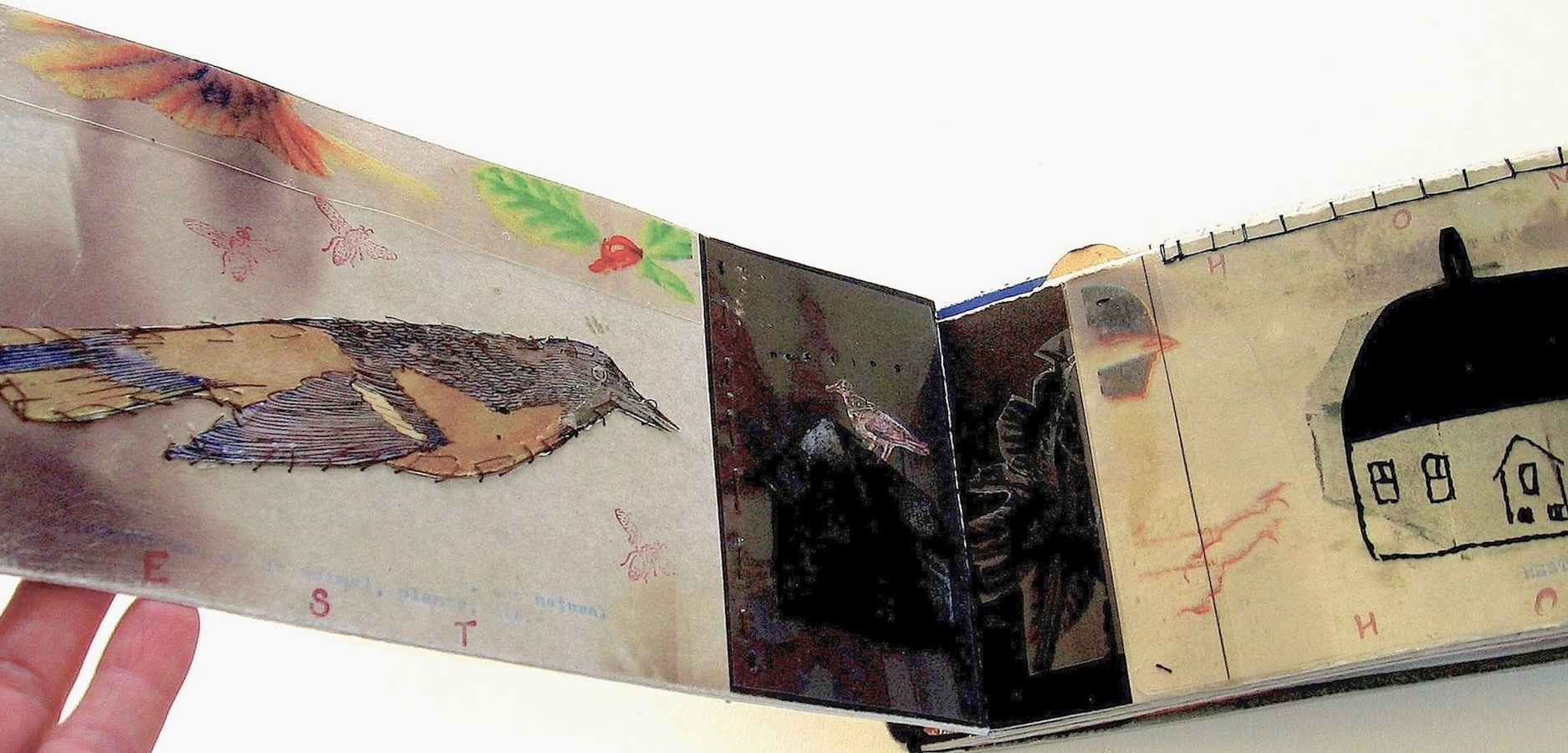 "ARTIST BOOKS ""HOME""    Stab Binding     2002"