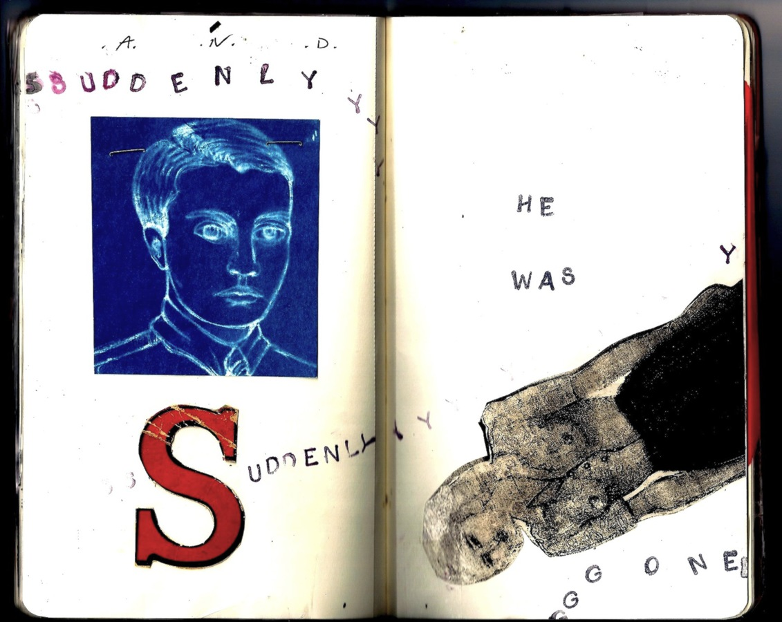 "ARTIST BOOKS ""SKETCHBOOK: And Suddenly""     2010"