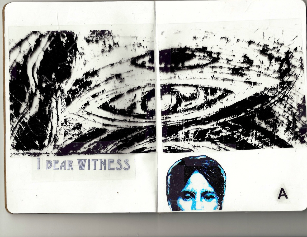 "ARTIST BOOKS ""SKETCHBOOK: Witness""     2012"