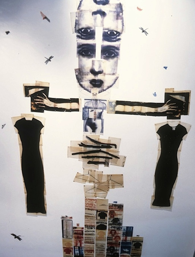 INSTALLATION: White Lies & Prayers MONMOUTH UNIVERSITY, Pollak Gallery   1998