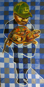 Molly Fletcher Works on Canvas Oil on Canvas