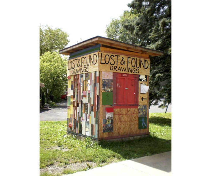 MOLLY RAUSCH Lost & Found Drawing Booth New Paltz, New York