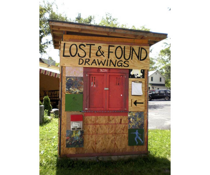 MOLLY RAUSCH Lost & Found Drawing Booth