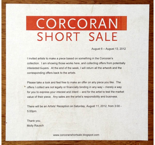 MOLLY RAUSCH Corcoran Short Sale