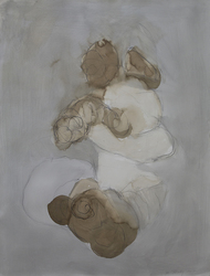 2012 walnut ink, graphite, gouache, oil crayon on paper