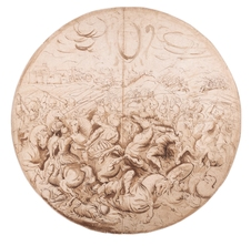 Galerie Nathalie Motter Masselink Italian School <i>A Battle Scene: Project for a Shield</i>