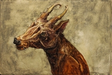 Galerie Nathalie Motter Masselink Alex Confer <i>Head of a Barking Deer</i>