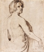Galerie Nathalie Motter Masselink Italian School <i>Young Man Seen in Half-Length Looking Over his Right Shoulder</i>