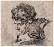 Galerie Nathalie Motter Masselink Notable sales <i>Study of the Head of a Young Man</i>