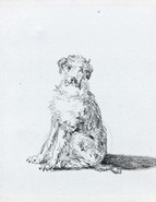 Galerie Nathalie Motter Masselink French School <i>A Seated Dog</i>