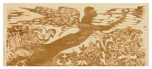 Marjorie Tomchuk  Cards & Small Prints woodcut