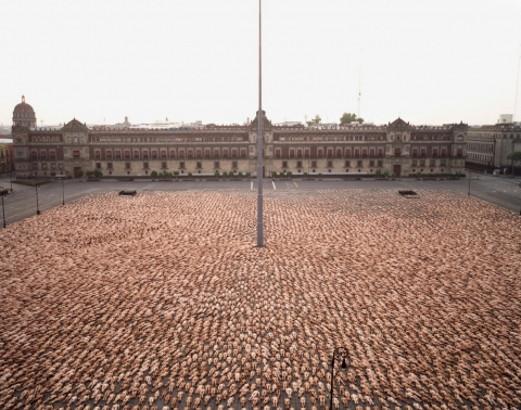 SPENCER TUNICK  selected works 1 c-print mounted between plexi