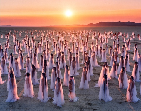 SPENCER TUNICK  selected works 5 c-print mounted between plexi