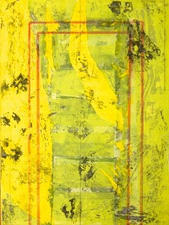 nancy berlin other recent work Mixed media on wood panel