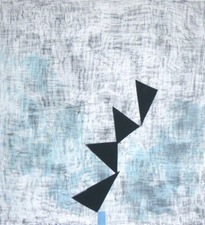 nancy berlin other recent work Graphite, acrylic and painted tape on paper