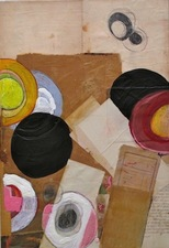Nancy Ferro Works on wood and canvas Papers, graphite, crayon, c. pencil, and beeswax on wood