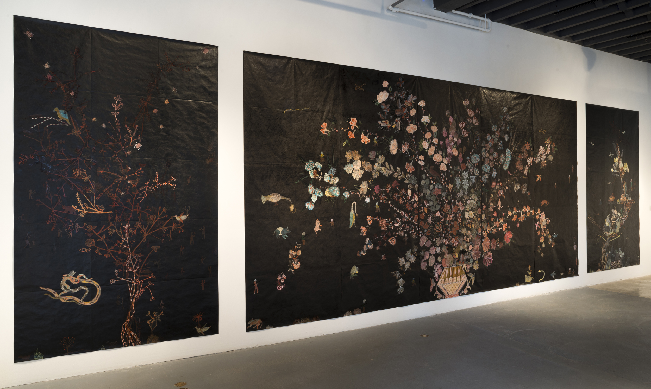 Nancy Friedemann-Sánchez Monarchs, The Bemis Center for Contemporary Arts, 2017-2018