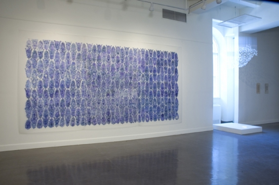 Nancy Friedemann-Sánchez BLUE DRAWINGS 2005