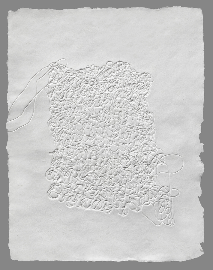 Works on Paper Fragment 1