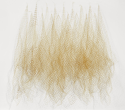 Nancy Koenigsberg Wall pieces Coated copper wire, glass beds