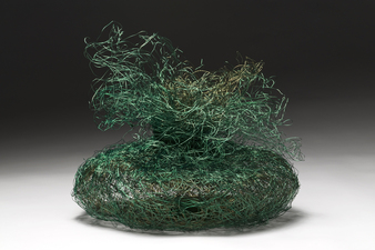 Nancy Koenigsberg Free-standing Coated copper wire