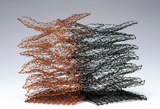 Nancy Koenigsberg Free-standing Anneal steel and copper wire