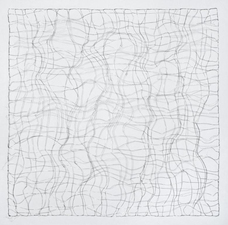 Nancy Koenigsberg Wall pieces Silver wire
