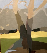 Nancy McCarthy LANDSCAPE  oil on canvas