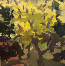 Nancy McCarthy LANDSCAPE  oil on linen