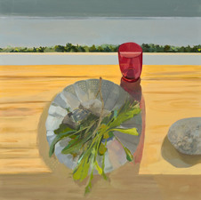 Nancy McCarthy TABLE SERIES oil on linen