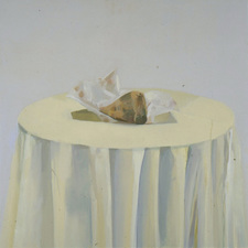 Nancy McCarthy TABLE SERIES oil on canvas