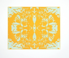 Nancy McTague-Stock  Solar Etchings, Monotypes Solar Etching with Monotype
