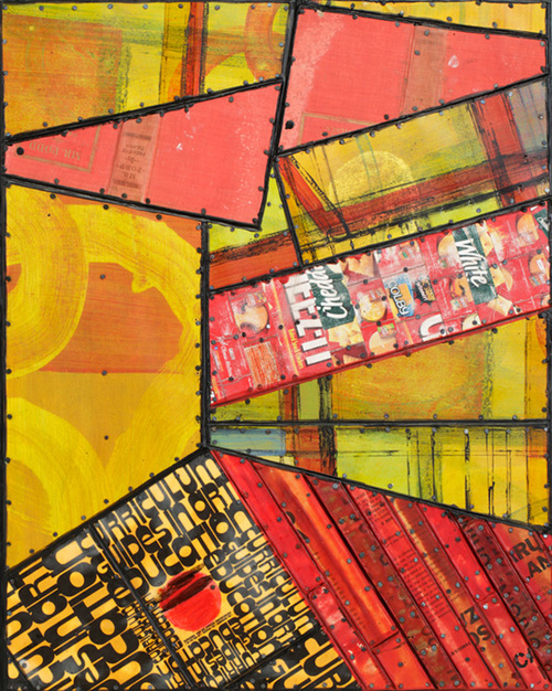 Nancy NATALE Paintings: Syncopated Series Mixed media on panel