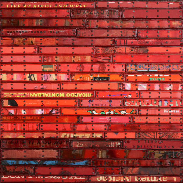 Archive - Sold Work Red Pair (Montalban)