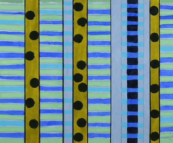 Paintings on Paper Bars 'n' Dots