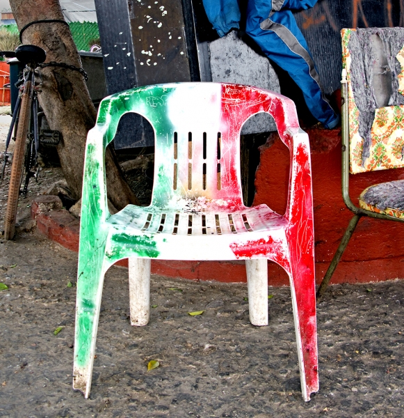 Street/Signs Chair of Mexico