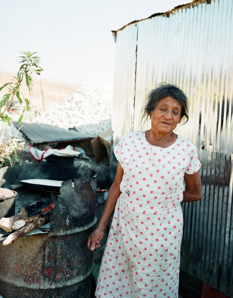 Outskirts Abuela and Cooking Fire