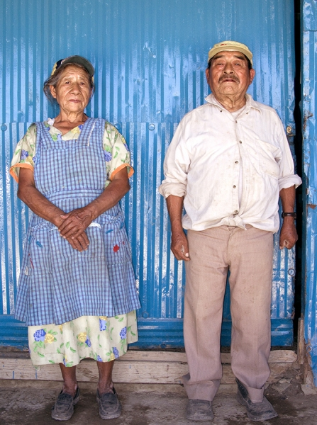 Outskirts Couple, Colonia Zapoteca