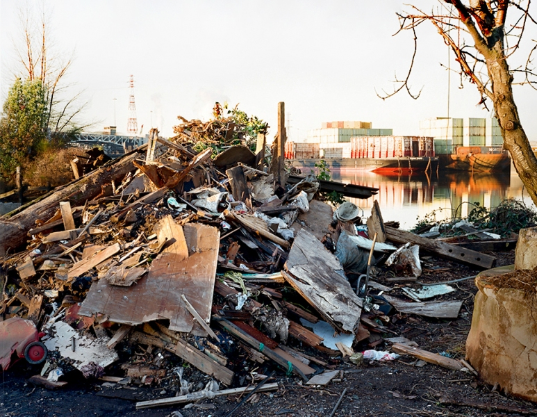 On the Duwamish LIly's House, Demolished