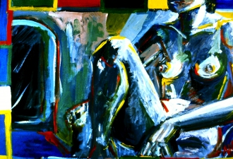 Nancy Scheer Collections Acrylic on Canvas