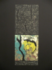 Nanette Carter  Prints Monotype, oils on Arches Paper