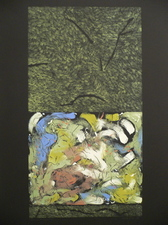 Nanette Carter  Prints Monotype, oils on Mylar