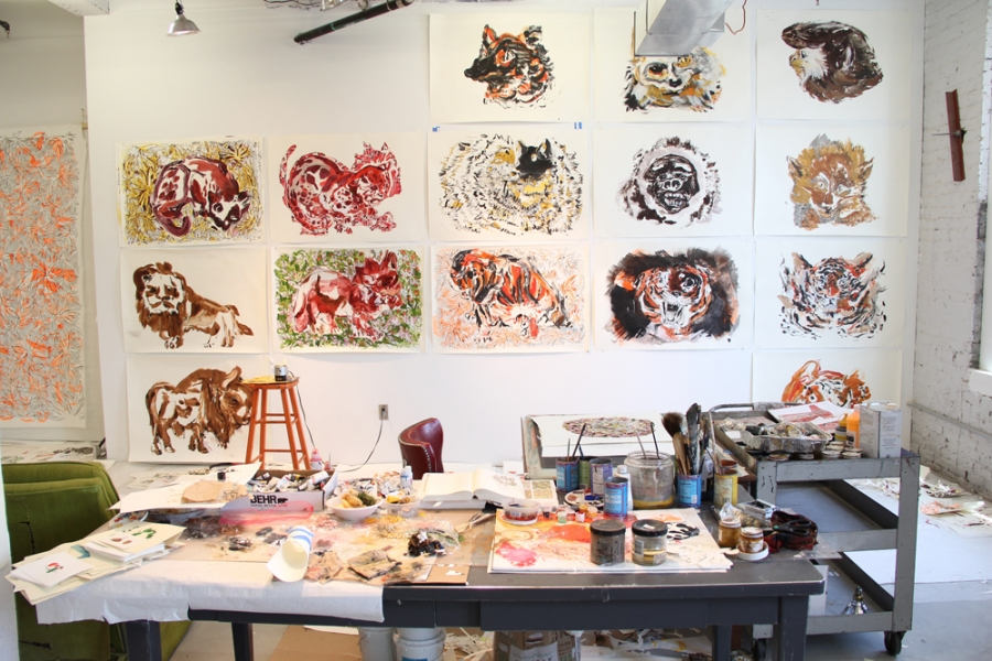 Bemis Residency Studio shot