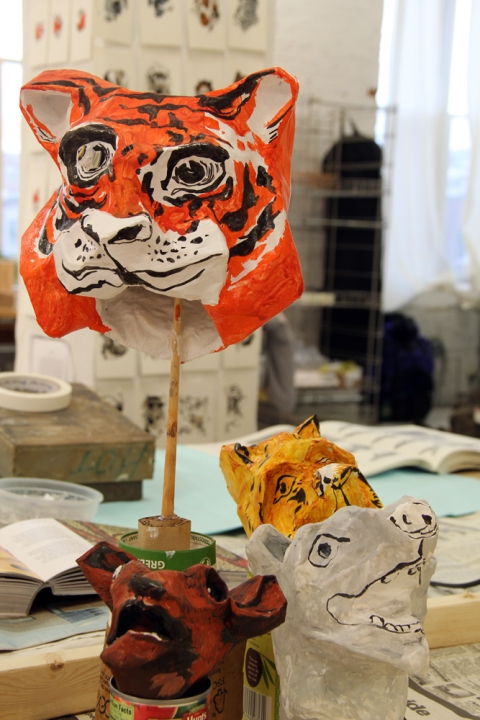 Bemis Residency Puppets (in progress)