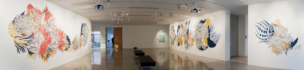 Installations The Daisy Argument, panoramic view 1