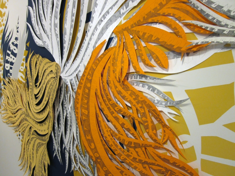Installations The Daisy Argument, detail