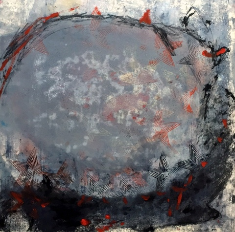 Natasha Karpinskaia Monophon 2014 monotypes monotype on paper